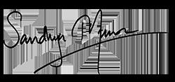 Sandhya Menon signature